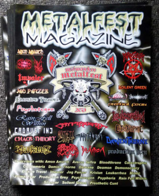 Milwaukee Metal Fest 15 Issue 2001