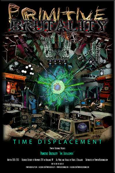 time displacement 24 x 36 poster primitive recordings. Black Bedroom Furniture Sets. Home Design Ideas