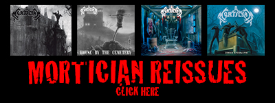 Mortician Digipak Reissues In Stock Now Here!